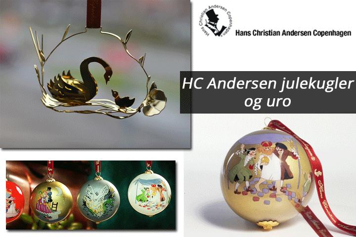 Image of   Julekugler inspireret af H.C. Andersens eventyr