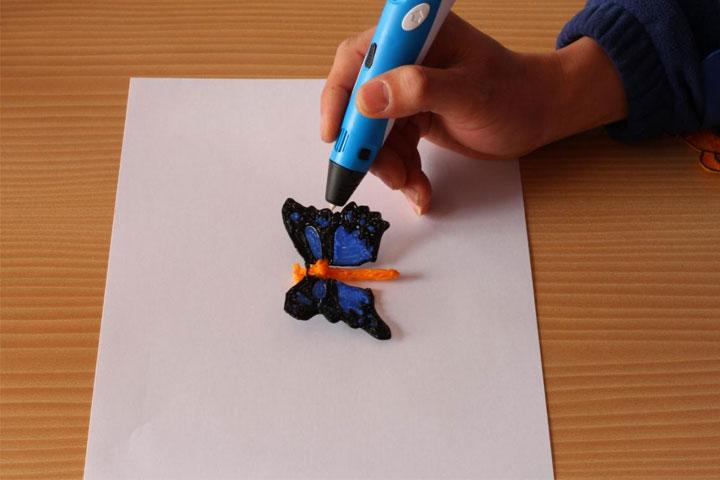 Image of   Giv dine tegninger liv med denne seje 3D printer pen!