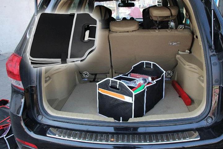 Image of   Få en smart biltaske til opbevaring af småting og hav alt samlet på ét sted i bilen