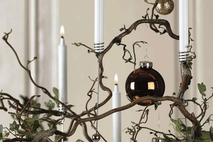 Image of   4 stk. Pontopidan juletræs olielys, der sikrer ekstra julestemning hele december!